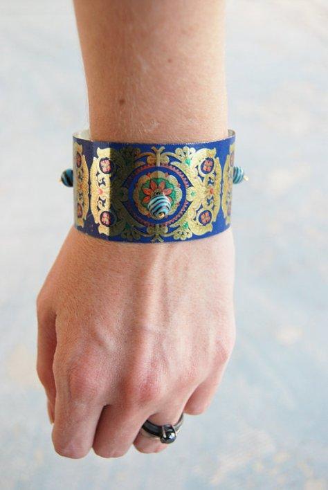Gypsy cuff bracelet